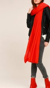 Free People red scarf
